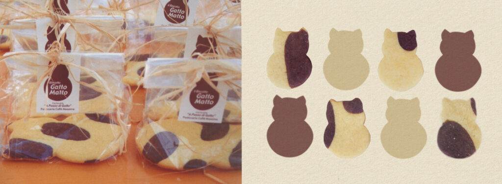cat shaped biscuits