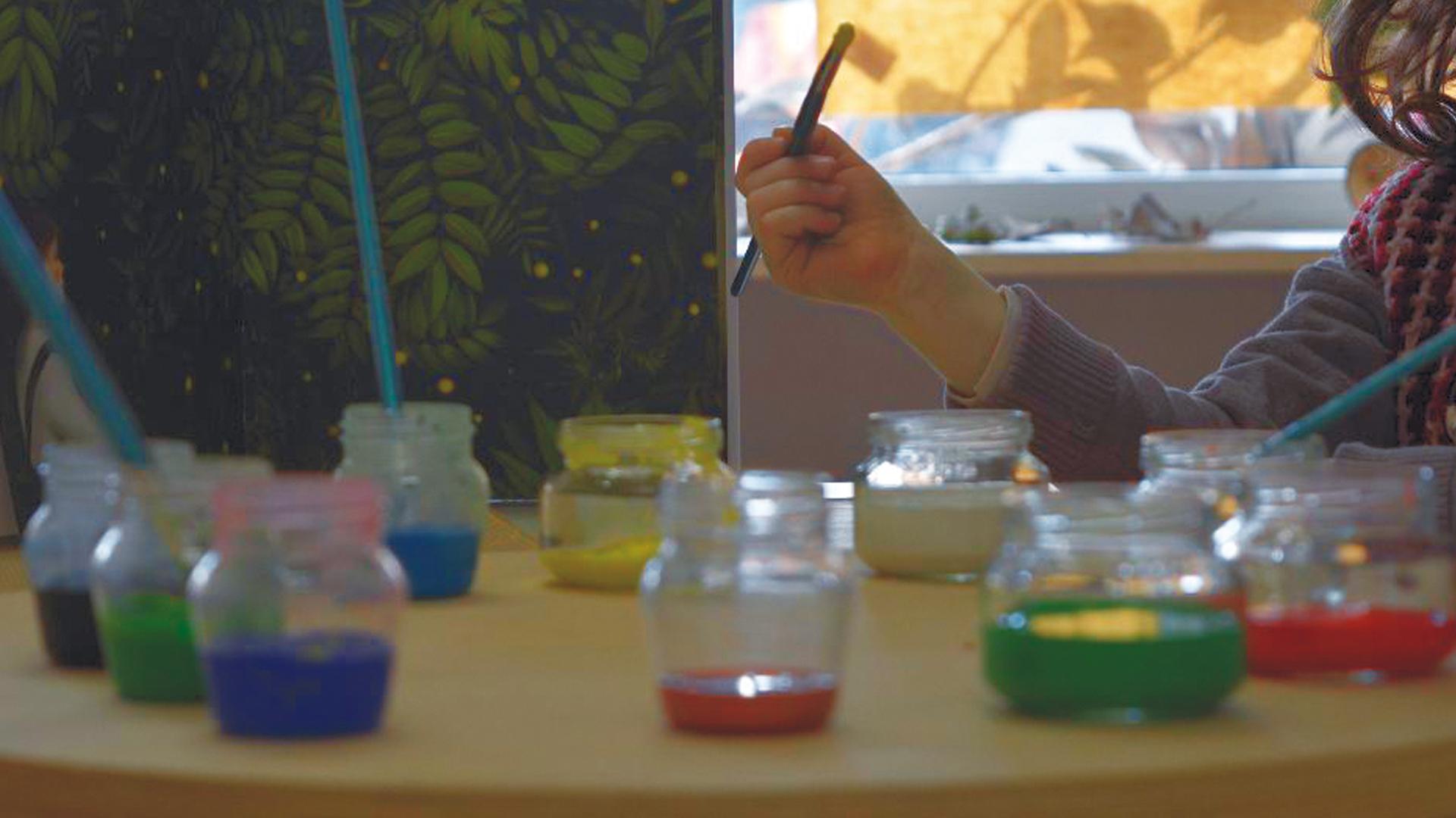 Art studio or atelier